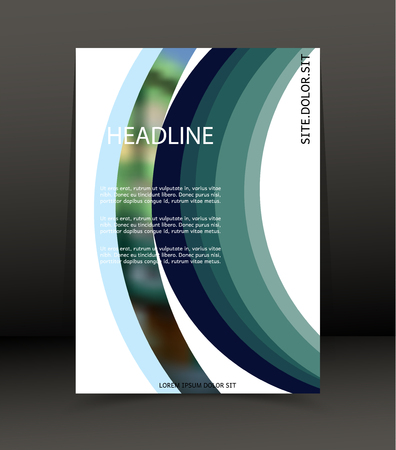 catalog: Abstract background for brochure, web, cover. Template for the poster. Vector.
