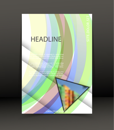 Abstract background for brochure, web lay out, cover. Template for the poster. Vector.