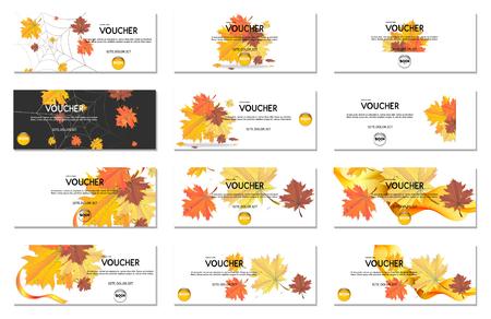 Gift voucher. Vector, illustration. Stock Illustratie