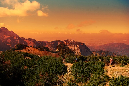 The mountains Foto de archivo
