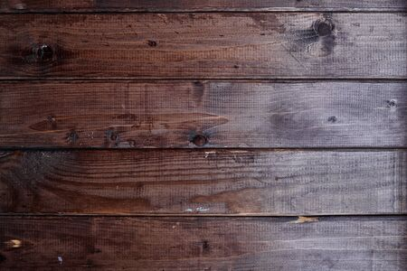 dark brown wood texture with wide stripes Banque d'images