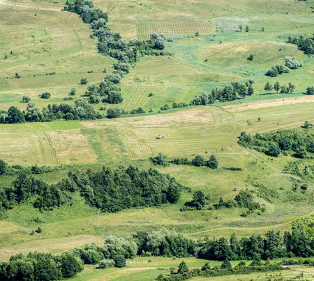 Birds Eye View of the Meadows and Pastures Parcel.