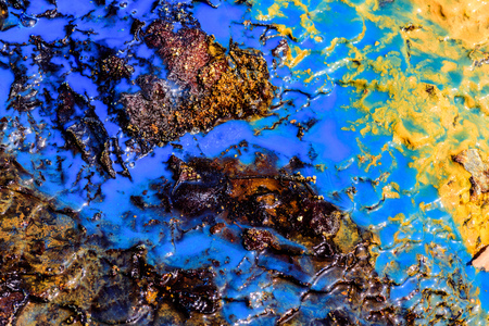 Color Background Texture in Nature. Abstract Background with Color Liquid Texture. Stock fotó