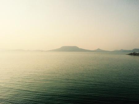 balaton: Badacsony at lake Balaton