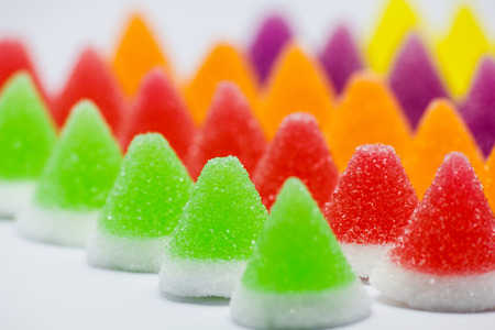 Colorful jelly photo