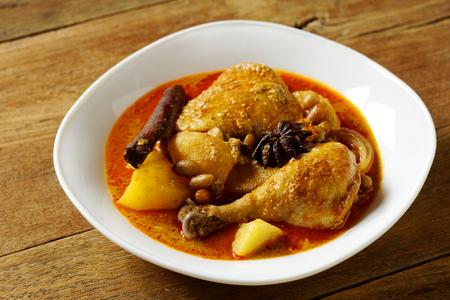Massaman Curry with Chicken and Potatoes