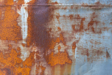 old rusty galvanized sheet texture background