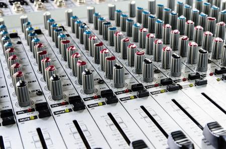 Sound mixer photo