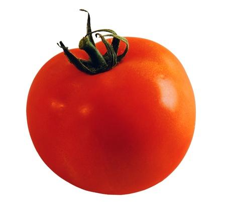 Tomato isolated on white background Stock Photo - 14399658