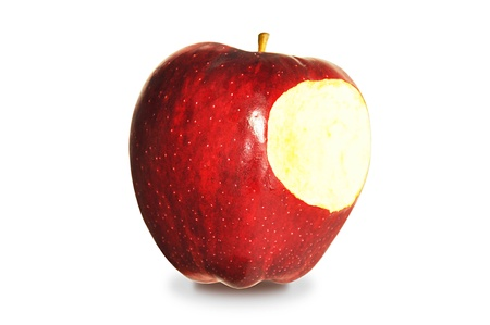 an apple isolated on white background Stock Photo - 14734191