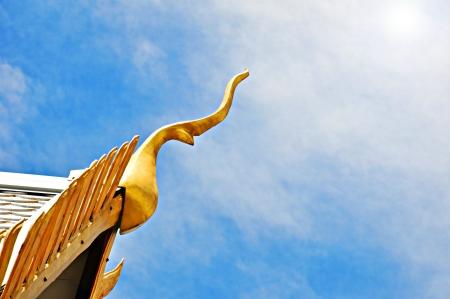 Gable apex of Thai temple