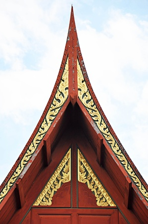 gables: Traditional Thai roofs and gables