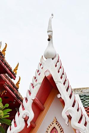 gable: Gable of Thai temple