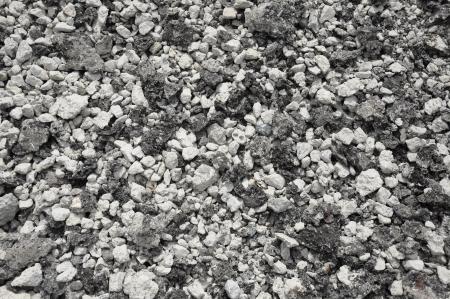 Mixed small gravels and asphalt photo