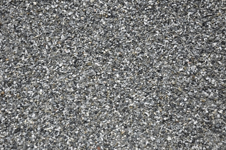 Mixed small gravel as background photo