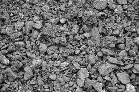 Mixed small gravels and asphalt photo