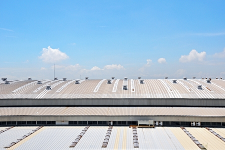 Factory roof photo
