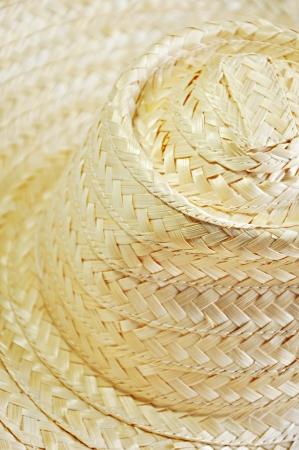 Bamboo woven hat photo