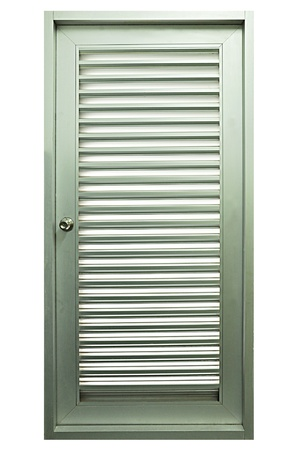 ventilate: Metal ventilating door
