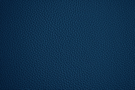 Blue leather texture as background photo