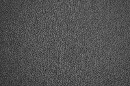 背景としての暗い灰色の革の質感