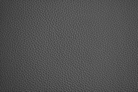 black leather: Dark grey leather texture as background Stock Photo
