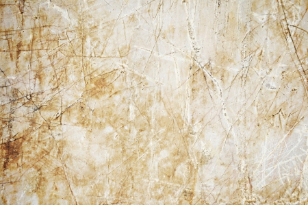 fissure: Old marble slab Stock Photo
