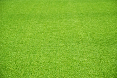 soccer background: Green artificial lawn as background