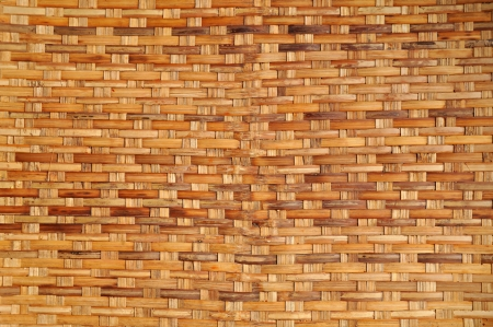 straw mat: Woven wood texture