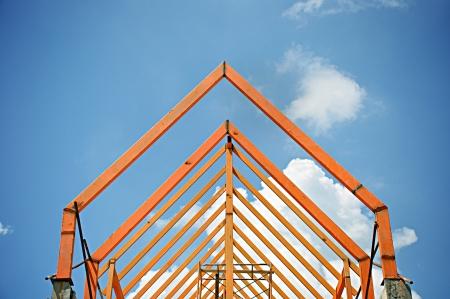 roof beam: Truss structure