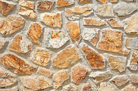 marbles close up: Random stone in concrete background Stock Photo