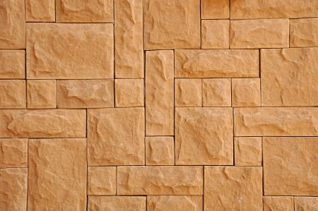 Random rectangular stone background photo