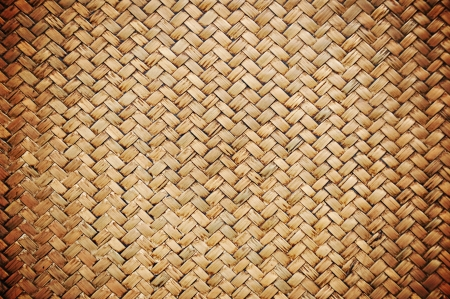 straw mat: Old woven wood pattern - lomo