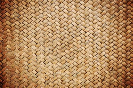 malacca: Vecchio modello di legno intrecciato - lomo