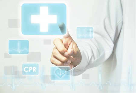 pharmacy icon: Hand ber�hren Erste-Hilfe-Zeichen