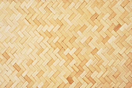 Asian style woven bamboo