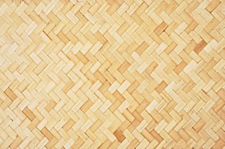 Asiatischen Stil geflochtenem Bambus