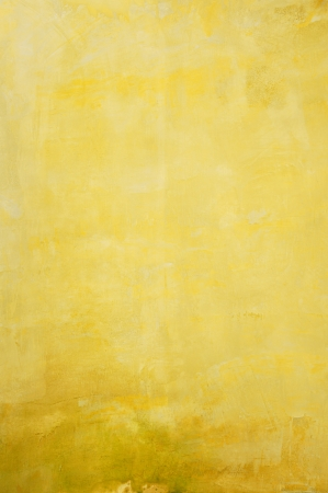 gold colour: Old yellow concrete wall