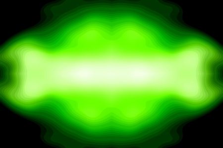 Green abstract glowing background photo