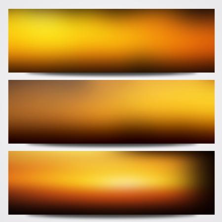 sun burnt: Orange spectrum abstract background Stock Photo