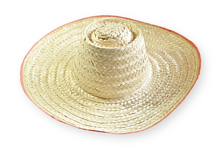 Old style woven hat photo
