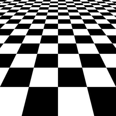 checkerboard: Ckeckered floor