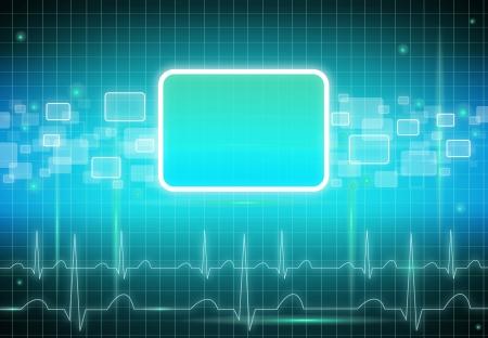 touchscreen: Etiqueta Medical fondo de la plantilla