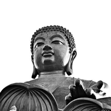 Big Buddha statue in Hong Kong photo