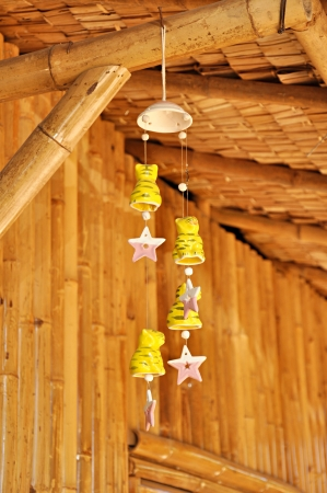 wind chime: Clay decorative wind chimes