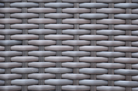 rattan mat: Dark brown woven rattan taxture background Stock Photo