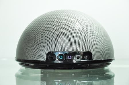 portable mp3 player: Modern portable speaker Stock Photo