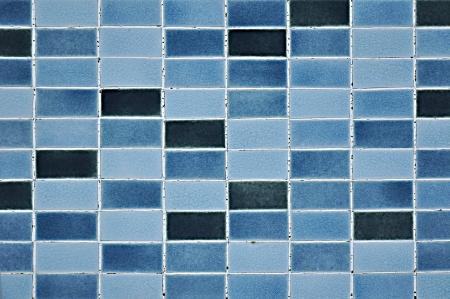 kitchen tile: Blue tile wall texture background