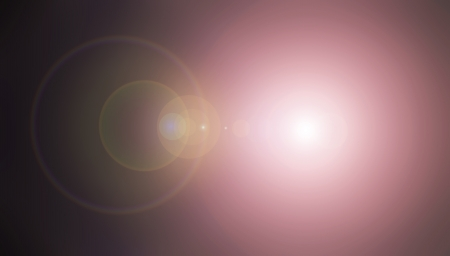 Black and violet lens flare abstract background photo