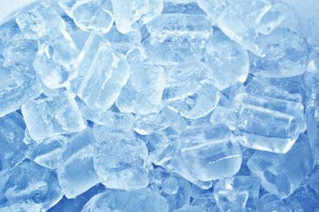 cubos de hielo: Hielo Fondo azul abstracto